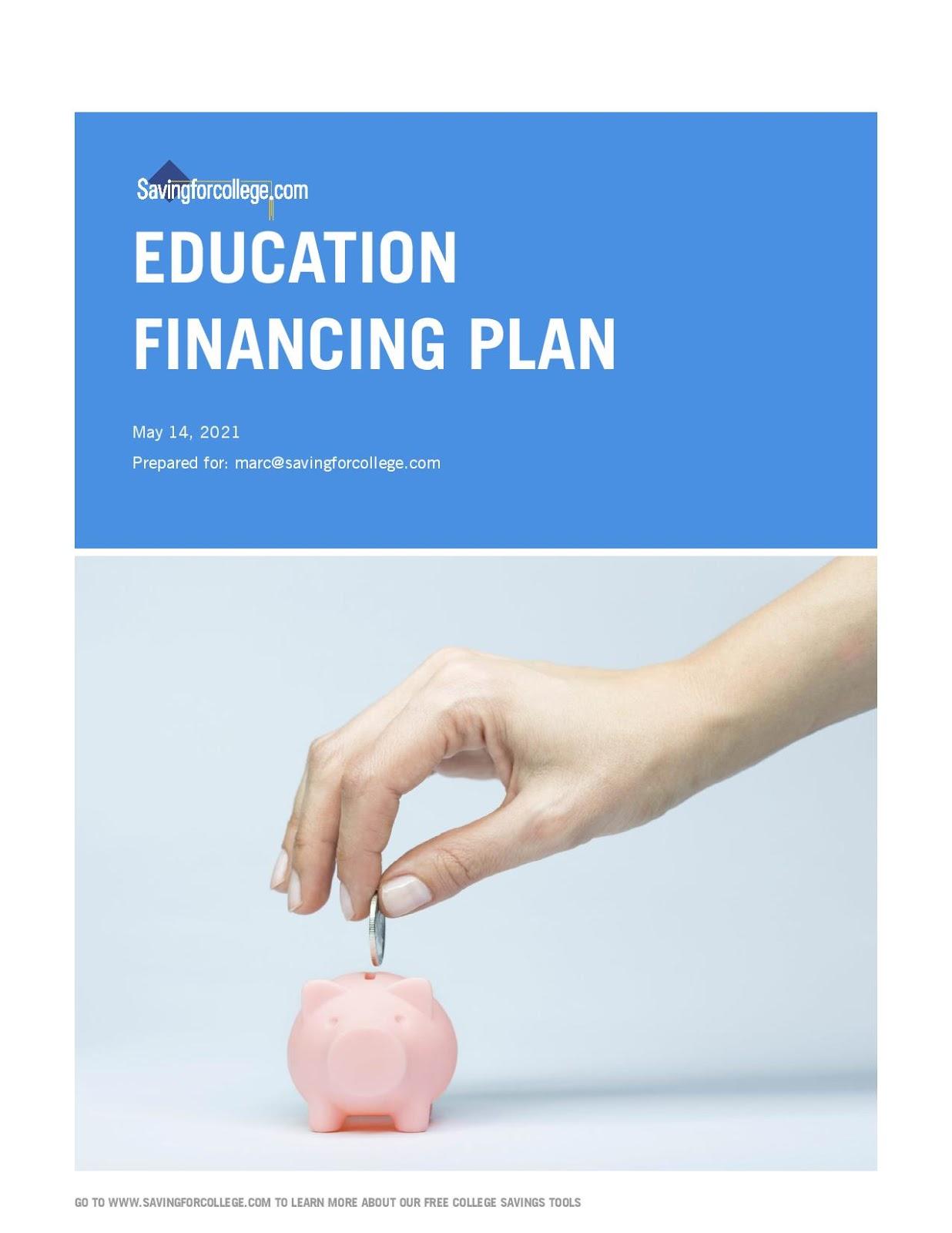 Education Financing Plan