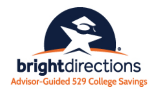 Bright Directions Advisor-Guided 529 College Savings Program logo