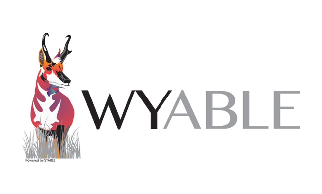 WY ABLE logo
