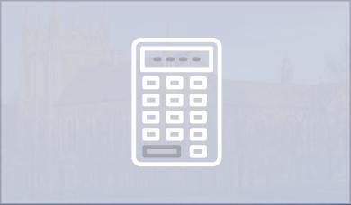 Tools calculators icon inactive